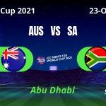 Aus vs sa t20 world cup 2021