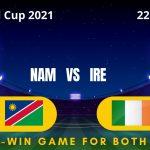 ireland vs namibia live streaming